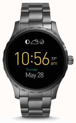 Fossil Gen 2 Q Marshal Smartwatch smoked Stainless Steel FTW2108 ... efdc8cd29a1
