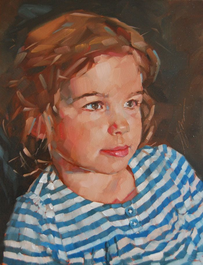 Portrait paintings, biographical information, notable sitters and pricing structure for portrait commissions for artist Simon Davis