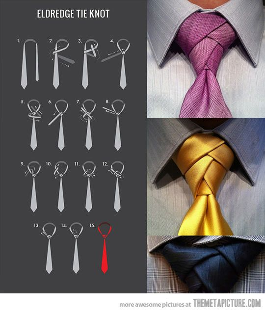 How to tie an Eldredge Knot…