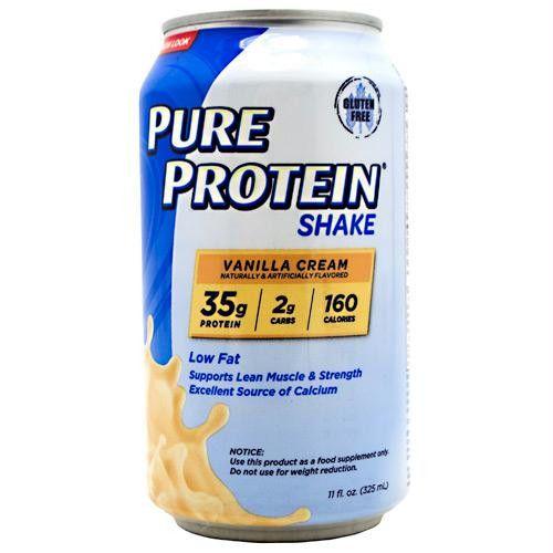 Pure Protein Pure Protein Shake Vanilla Cream