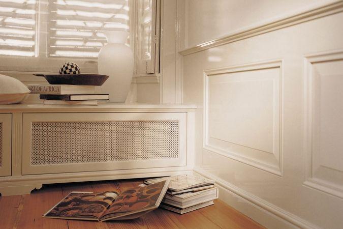 Vonder | Manorhouse lambrisering incl. radiator bebouwing omstuw verwarming