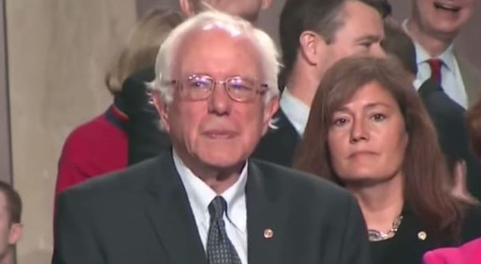 It must have been validating for Bernie Sanders to hear Pope Francis raise many of the same issues that are in the Vermont Senator's presidential platform.