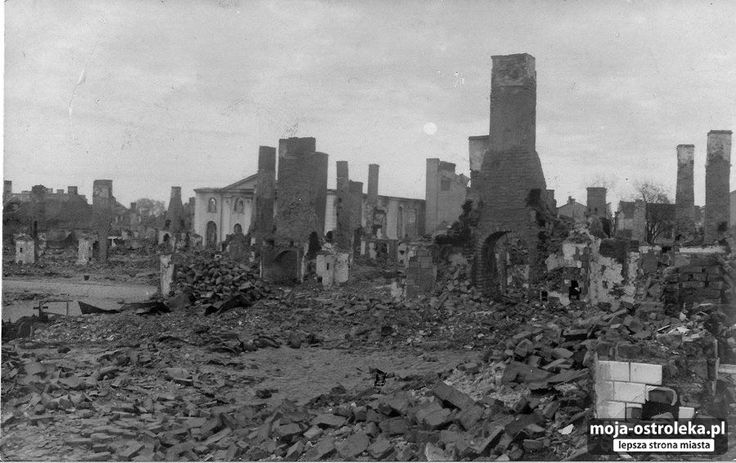 Ostrołęka do 1918 roku (fot. archiwum prywatne)/25 - Galeria zdjęć - Moja Ostrołęka - lepsza strona miasta(widok po pierwszej wojnie swiatowej)
