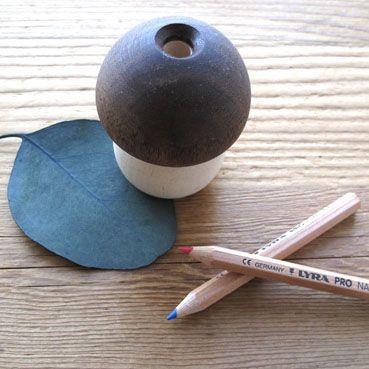 【楽天市場】日本製 木のキノコ鉛筆削り:slowworks