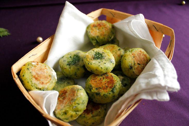 croquettes vegan sans gluten pommes de terre ortie - ORTIE – Edition n°6 du Carnaval « Des Blogs Et Des Plantes »