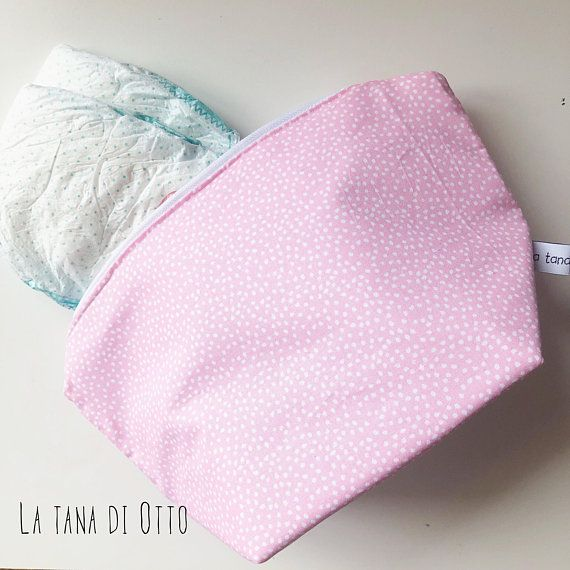 Polkadots extra large zipper pouches, zipper pouch, zip pouch, polkadots, pouch, baby bag, diaper bag, pink, ple blue, grey, mint, yellow