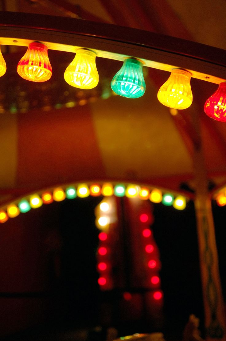 #Multicoloured #festoon lights