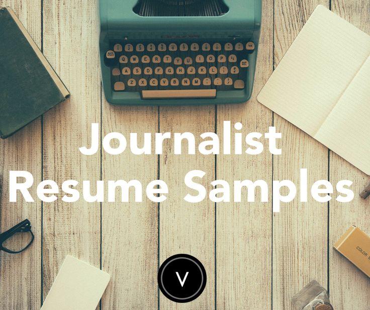 95 best Landing Your Dream Job Resume Help and Interview - journalist resume