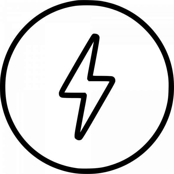 17 Energy Icon White Png