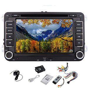 Pupug 7inch stéréo voiture écran TV HD-tactile GPS Sat Autoradio avec Canbus gratuit 8 Go carte carte navigateur Car PC En dash Double 2DIN…