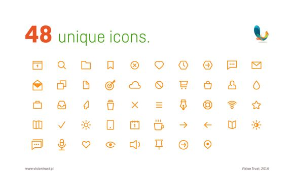 Check out Iconpack #1 by Vision Trust on Creative Market