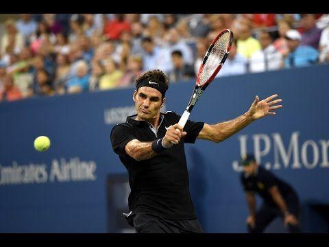 Résumé vidéo Federer Bautista (US Open 2014) - http://www.actusports.fr/117034/resume-video-federer-bautista-us-open-2014/