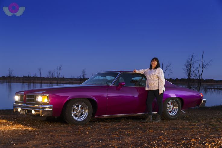 Pride and Joy final print - Leeanne Hodge and her '76 Pontiac Lemans