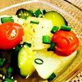 夏の冷やし鉢☆野菜生姜だし煮