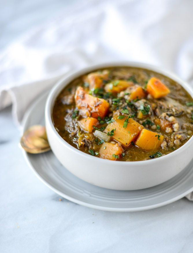 Butternut Beef Stew with Pearl Couscous.