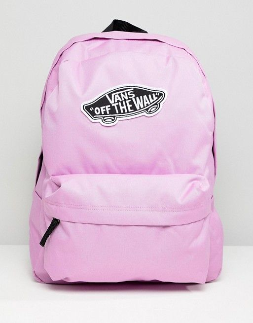871a3f60305 Vans Violet Realm Logo Backpack | VANS - Backpacks, Vans off the ...