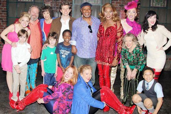 Kinky Boots-  James Pickens, Jr. – Cast