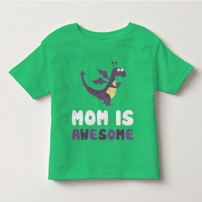 """Áo thun tay ngắn trẻ em kidstyle màu xanh chuối in chữ """"Mom is Awesome"""" // Chất liệu thun cotton 100% cao cấp, màu rất đẹp // Đủ size từ 1 - 12 tuổi cho bé lựa chọn // Xem chi tiết GIÁ SỐC tại website kidstyle.com.vn ** Công ty thời trang trẻ em KidStyle ** Địa chỉ: 206/40 Đồng Đen, Phường 14, Quận Tân Bình, Tp. Hồ Chí Minh ** SĐT: 0909 145 138"""