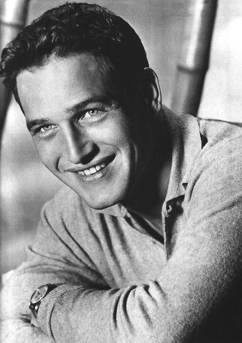 Paul Newman, 1959 - Sigh!  I had a door size poster of Paul Newman.  It was in black and white, except for his eyes, which were blue!