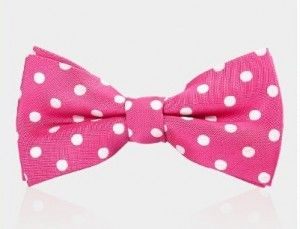bow tie pink 1062