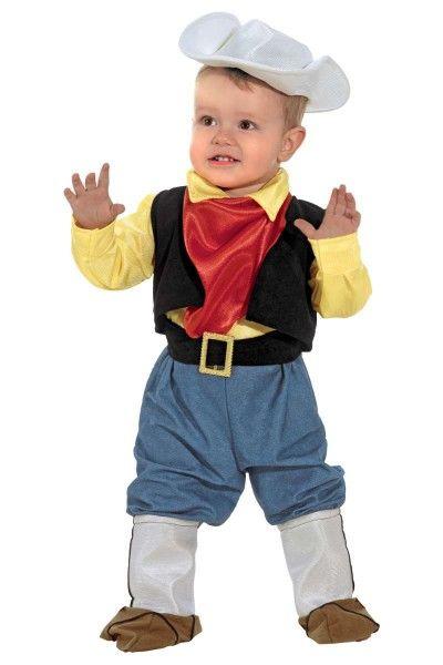 Babycowboykostüm Lucky Cowboy Kleinkindkostüm