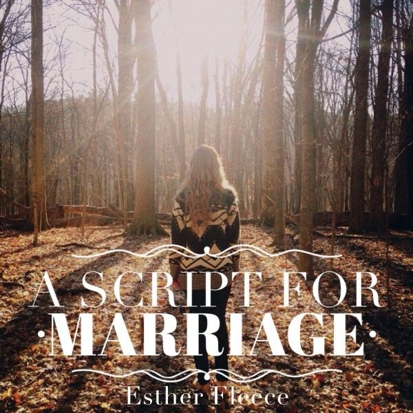 """The ""marriage"" I was rejecting was not God's script for marriage at all."" 