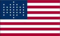 american flag civil war era