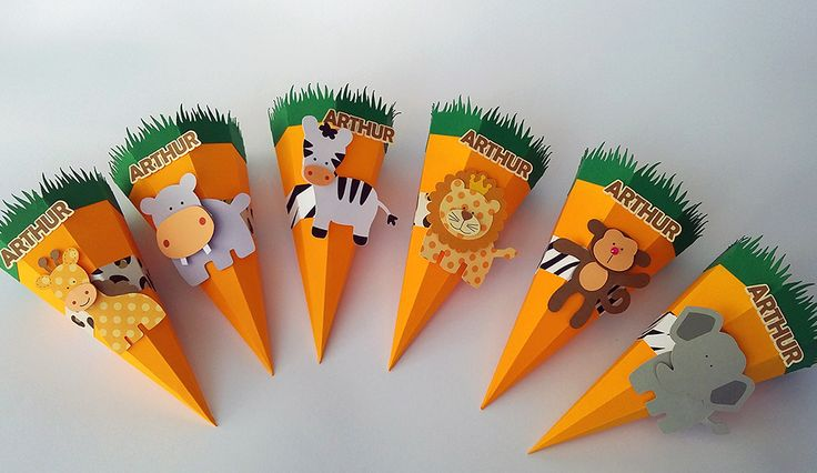 Cones safári para decorar e encantar a sua festinha. Os animais do safári vão adorar participar da sua festa. Festa Safári, Festa na Floresta, Festa Zoológico, Festa na Selva
