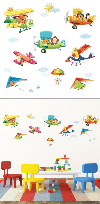 87 besten Kinderzimmer ⚂ Motto Pilot / Flugzeug Bilder auf ...