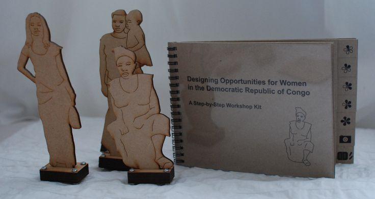 Design workshop kit for 'Designing Opportunities for Women in Democratic Republic of Congo