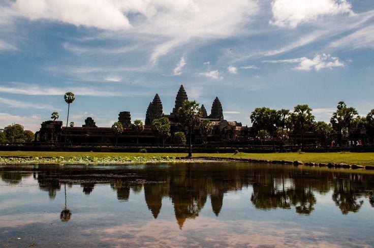 Храмы Ангкора. Камбоджа.