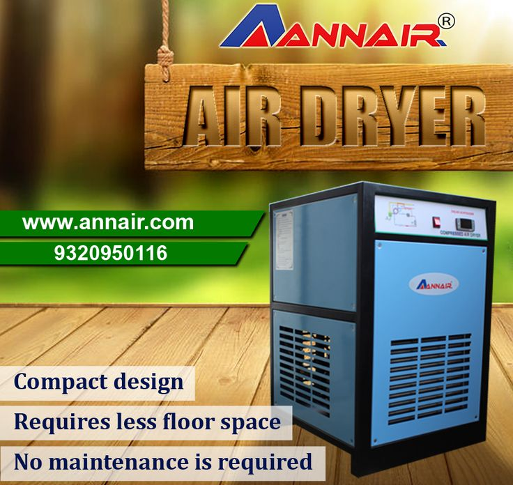 Annair is solution provider for Air Dryer in India. Leading manufacturer and solution provider for compressed air treatment, Industrial Cooling Application.