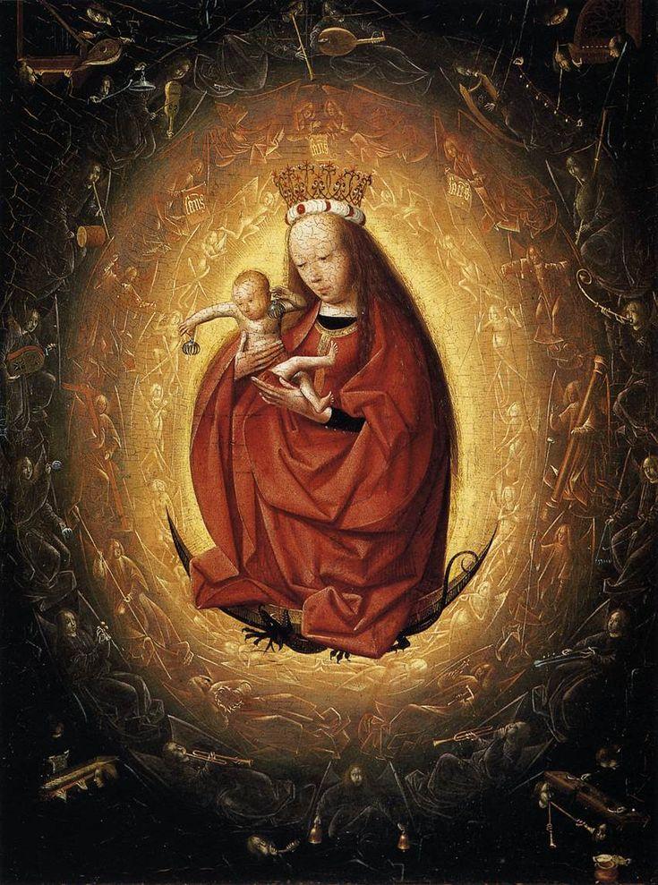 Geertgen tot Sint Jans (1460/1465 – до 1495) Прославление Богородицы.