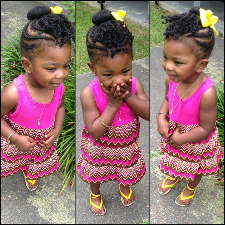 Brilliant 1000 Images About 2 Girl39S Natural Hairstyles On Pinterest Short Hairstyles Gunalazisus