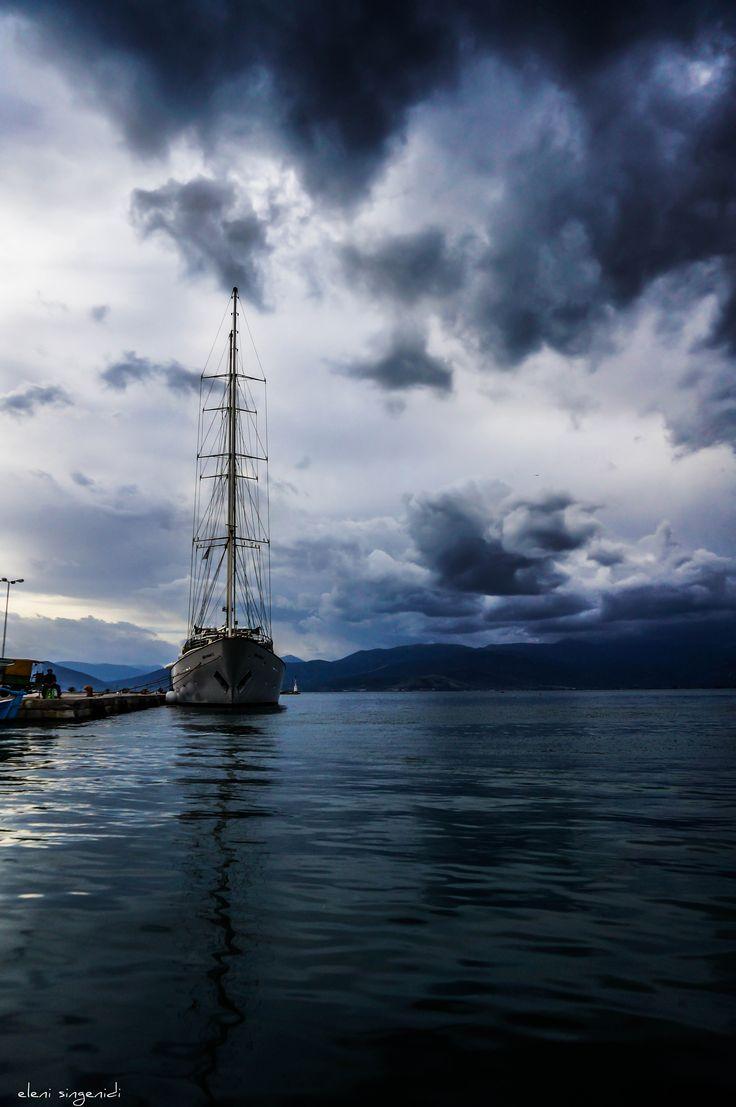 the mast speaking to God.. -Nafplio - Peloponnese - Greece