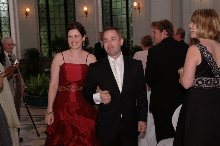 I was a fabulous wedding at Casa Loma and yes, that is the beautiful bride in red.