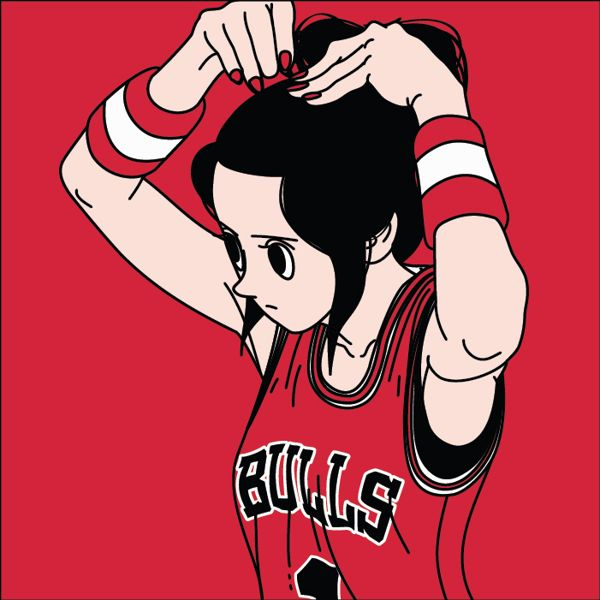 Basketball Girl by Jungyoun Kim, via Behance