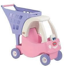LITTLE TIKES - COZY SHOPPING CART - Making shopping fun with your lil' princess