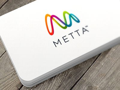 I just finished this visual identity for Metta. Metta makes smartware for self improvement. The mark forms an M as in Metta and as such it can be seen as an initial mark. But the mark can also be ...