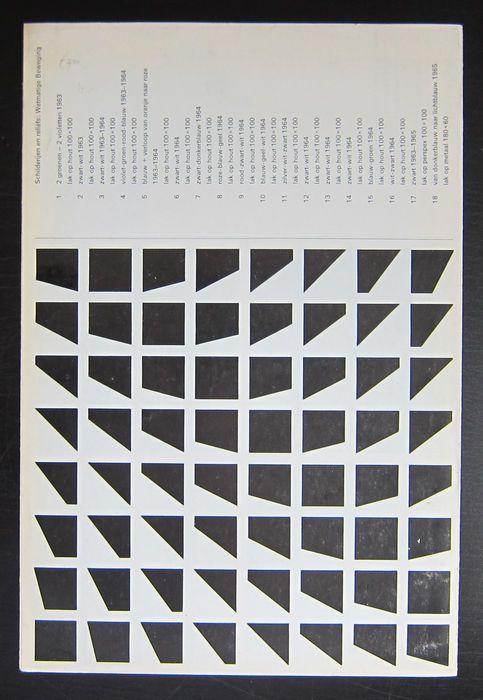 Peter Struycken, p. struycken, 25 November 1966 – 1 January 1967, Stedelijk Museum Amsterdam