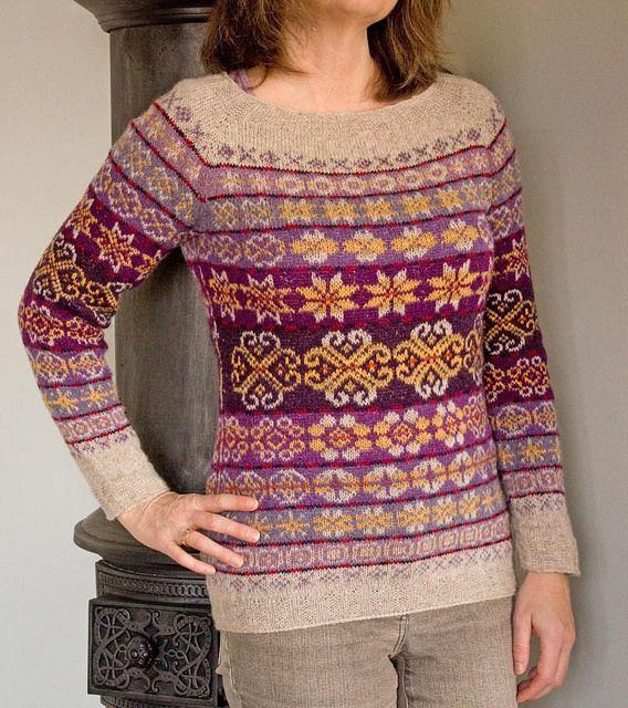 17 best Fairisle images on Pinterest | Knitting, Backpacks and ...