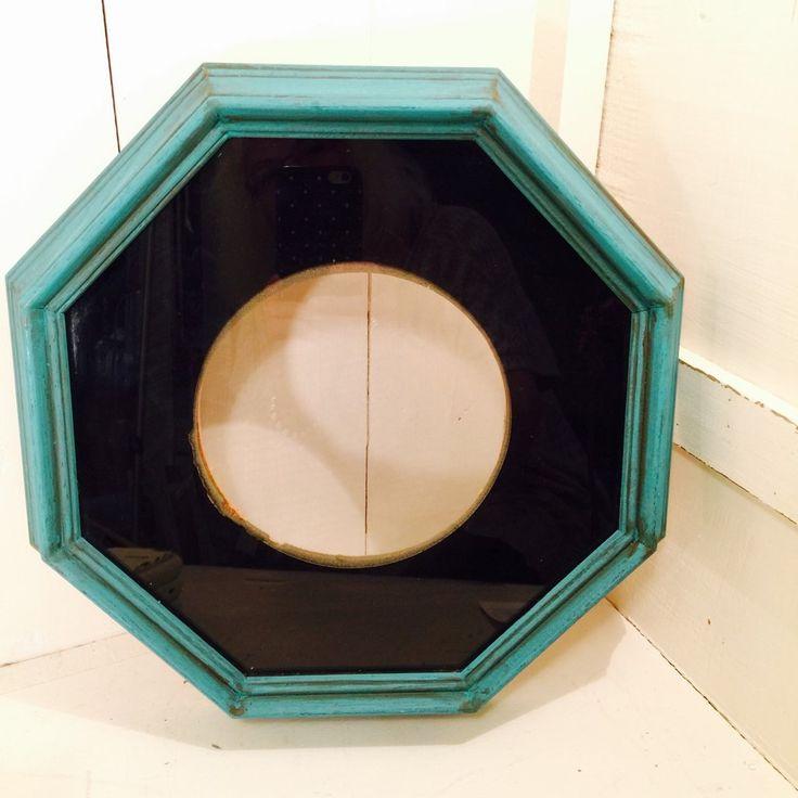 Vintage Octagonal Frame - $44