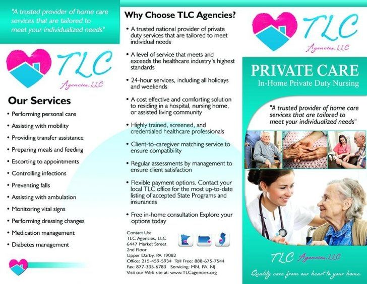 Free Home Care Flyer Templates Home Health Care Home Health Health Care
