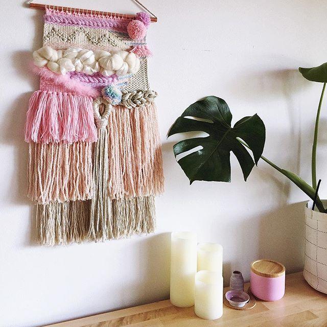 ✨'Flossy' ~ ✨• ▾ ▾ ▾ See more ☛#pmbweaves #wovenwallhanging #weaving #homedecor #interiors #wovenart #handwoven #handmade #wallart #weavingaustralia #wovenwallart #wallhanging #woventextiles #abmlifeiscolorful #homewares #wallweaving #decor #pinchmebeautiful #weavingsydney #weaversofinstagram #weaver #maker #woventextiles #nurserydecor #acolorstory #livecolorfully #craftedaus #made #handmadeaustralia #girlboss #creativeb...