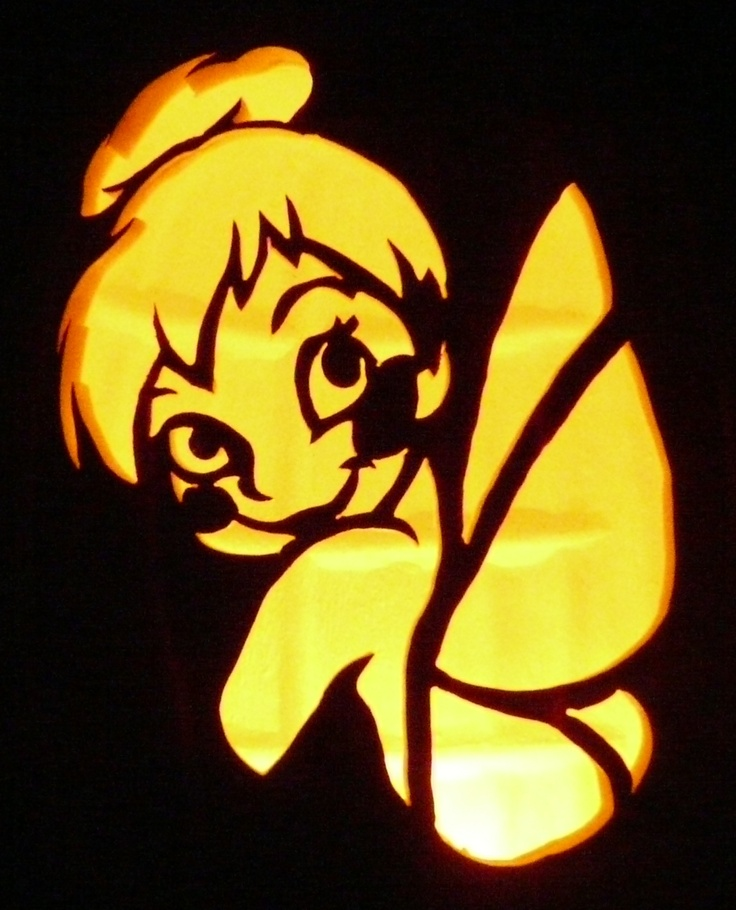 Best 25 tinkerbell pumpkin ideas on pinterest carving for How to carve tinkerbell in a pumpkin