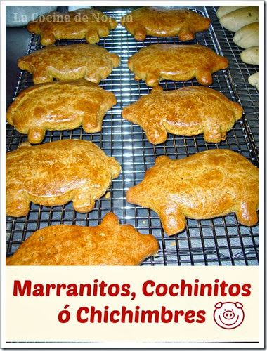 Marranitos, Cochinitos or Chichimbres. A favorite treat at the Mexican Bakery that you can came in your own kitchen. Check the tutorial.