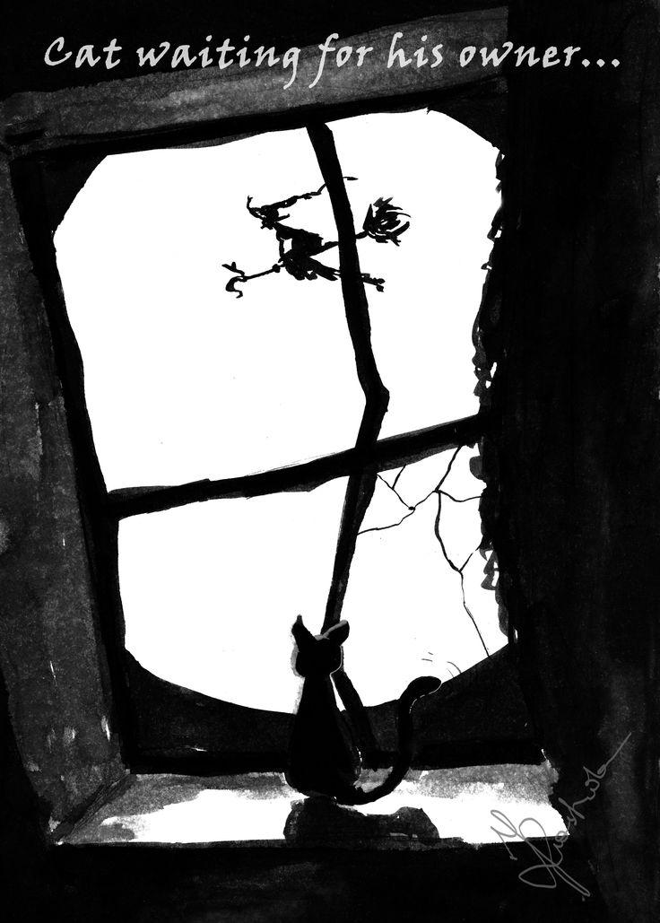Black Cat by Kashoka