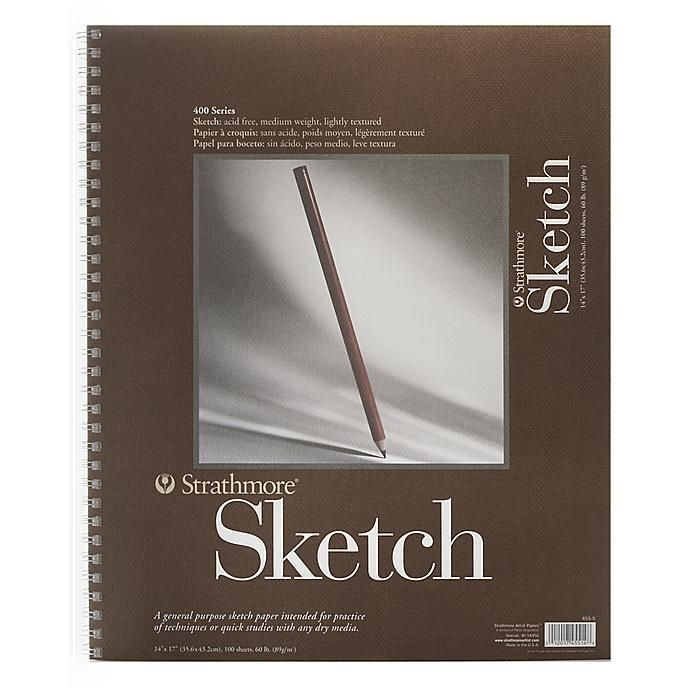 Strathmore 14-inch x 17-inch 400 Series Sketch Pad