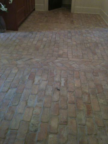 63 Best Brick Floors Images On Pinterest Brick Flooring