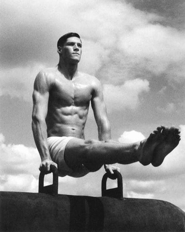 244 best vintage beefcake images on pinterest vintage men hairy men and locker - Simon porte jacquemus gay ...